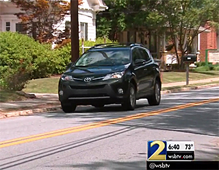 WSB-TV 2 Atlanta: Toyota sues military family, after selling them unsafe lemon RAV4